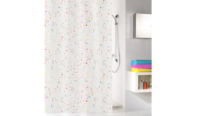 Kleine Wolke Duschvorhang »Confetti« Breite 200 cm kaufen