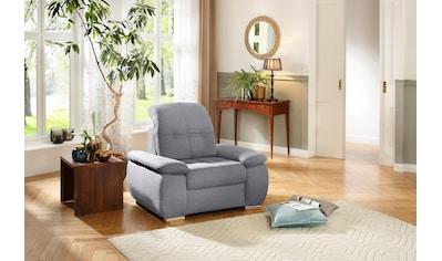 DELAVITA Sessel »Lotus Luxus«, mit besonders hohem Sitzkomfort, belastbar bis ca.140... kaufen