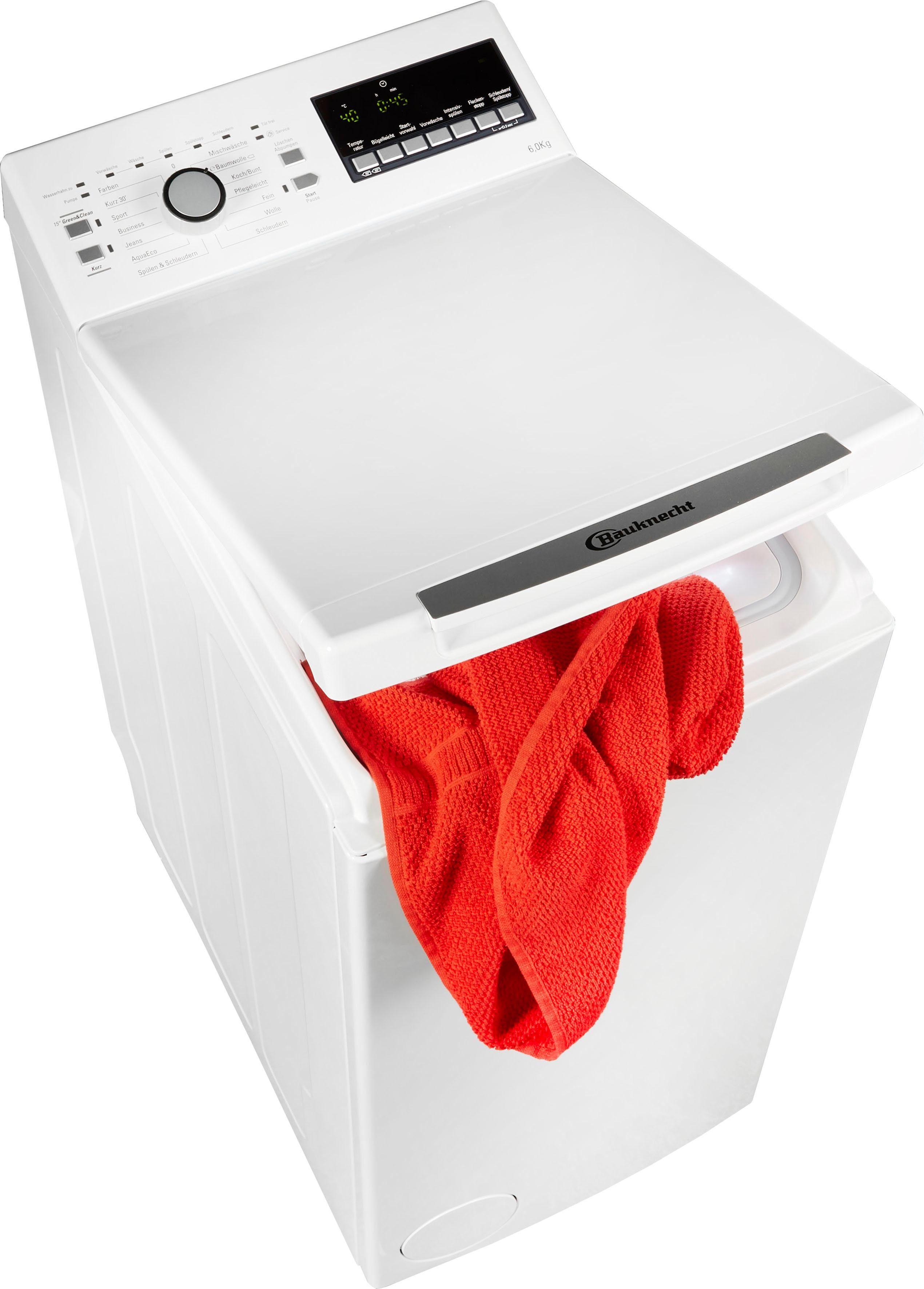 BAUKNECHT Waschmaschine Toplader WAT 6312 | Bad > Waschmaschinen und Trockner > Toplader | Bauknecht