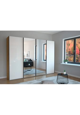 WIEMANN Schwebetürenschrank »Monaco«, hochwertige Glas- und Spiegelfront kaufen