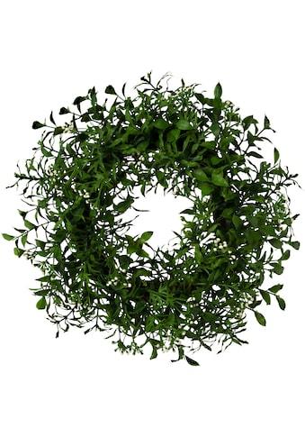 Creativ green Kunstkranz »Ruscuskranz« (1 Stück) kaufen