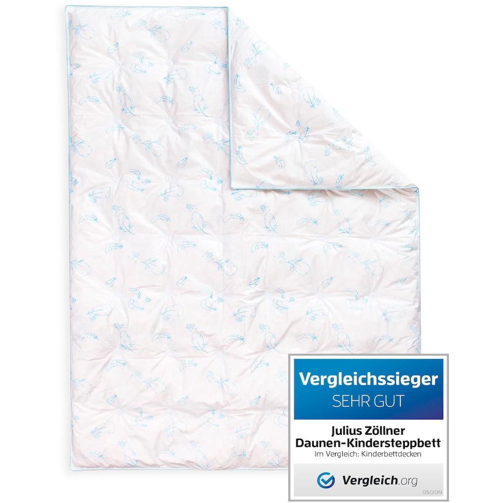 Julius Zöllner Daunenbettdecke »Daunen-Ganzjahressteppbett«, warm, (1 St.)