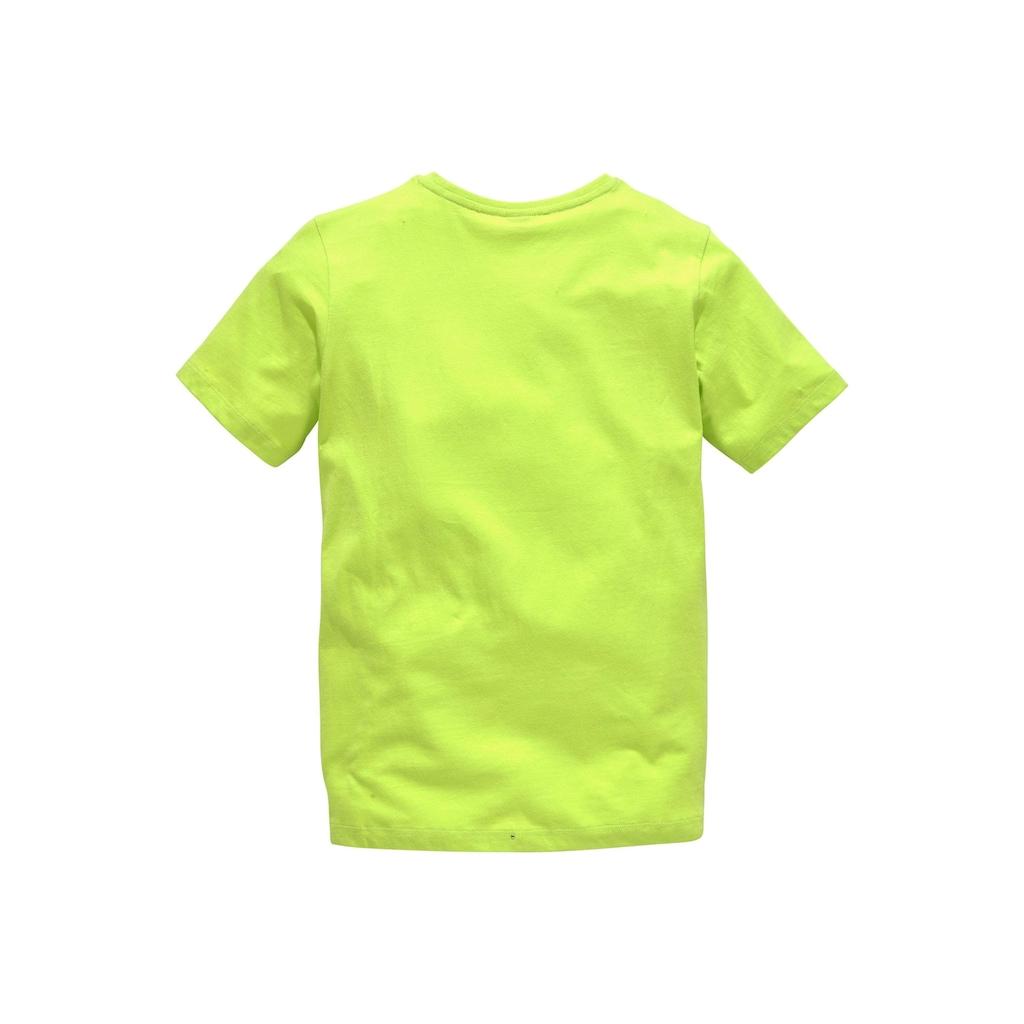Bench. T-Shirt »BE ACTIV«