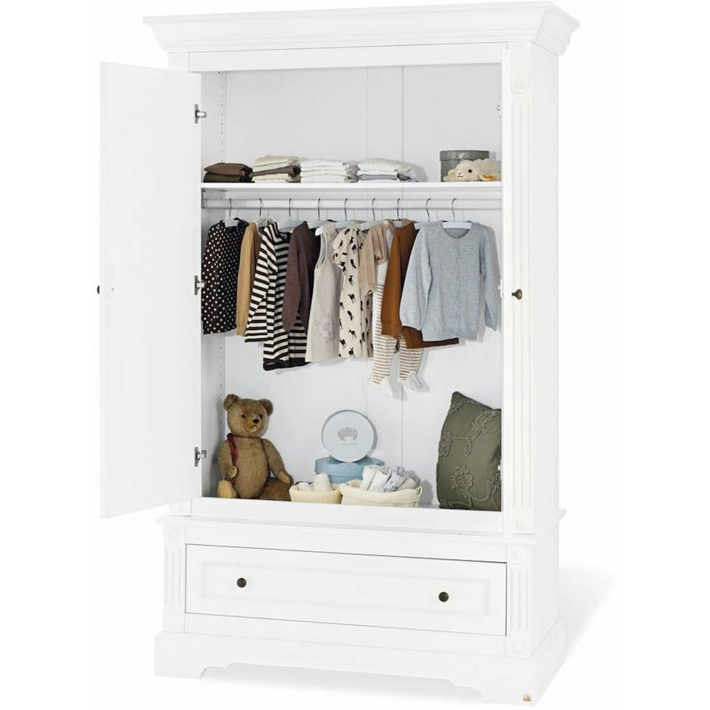 Pinolino® Babyzimmer-Komplettset »Emilia«, (Set, 3 St.), breit; mit Kinderbett, Schrank und Wickelkommode