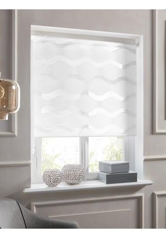 Guido Maria Kretschmer Home&Living Doppelrollo »Wellen«, Lichtschutz, ohne Bohren, freihängend, democratichome Edition kaufen