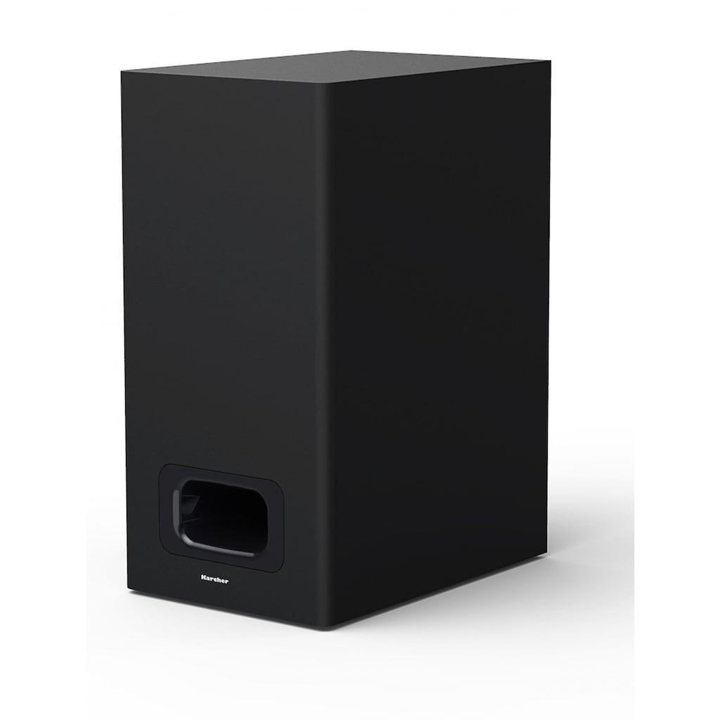 Karcher TV-Soundbar inkl. Subwoofer mit Bluetooth