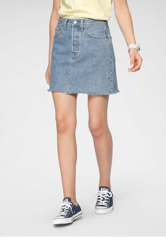 Levi's® Jeansrock »High Rise Deconstructed Skirt« kaufen