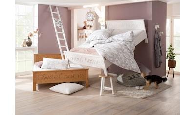 Home affaire Bett »Sweet Home«, aus massiver Kiefer kaufen