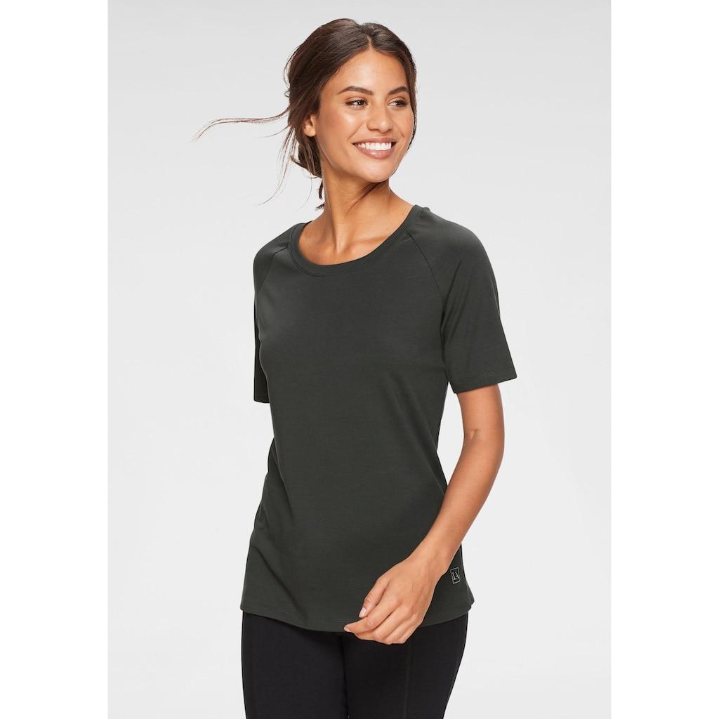 LASCANA T-Shirt, mit Rundhalsausschnitt