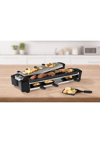 MAXXMEE Raclette »für 8 Personen 1100W«, 8 St. Raclettepfännchen, 1100 W kaufen