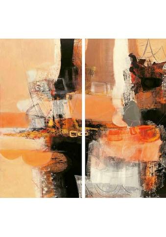 my home Kunstdruck »MAURIZIO PIOVAN / Nuovi incontri I,II«, (Set, 2 St.) kaufen