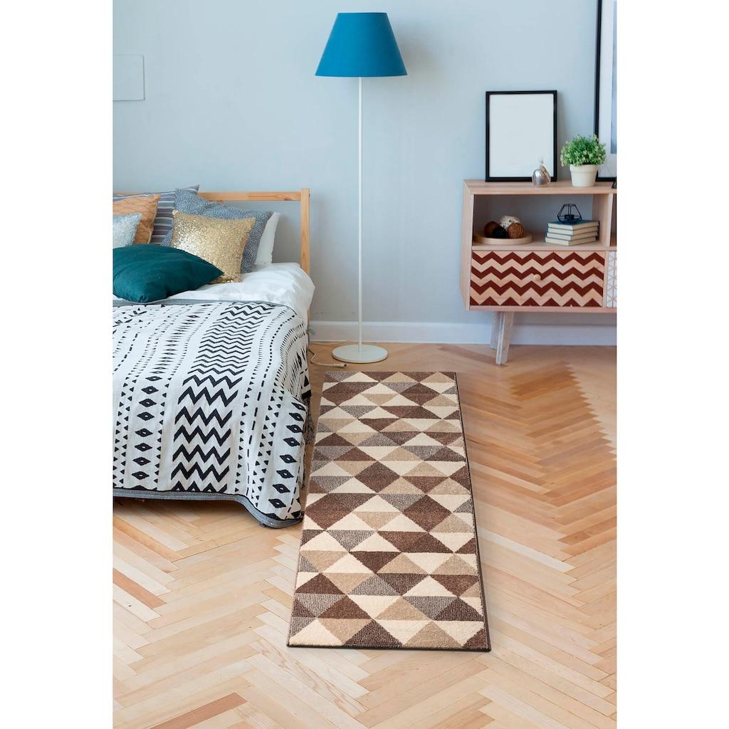 my home Läufer »Sarina«, rechteckig, 14 mm Höhe, modernes Design