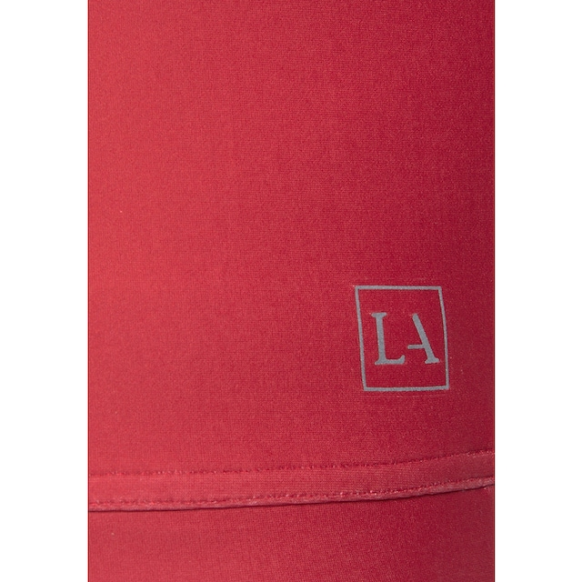LASCANA ACTIVE Crop-Top »Technical Red«