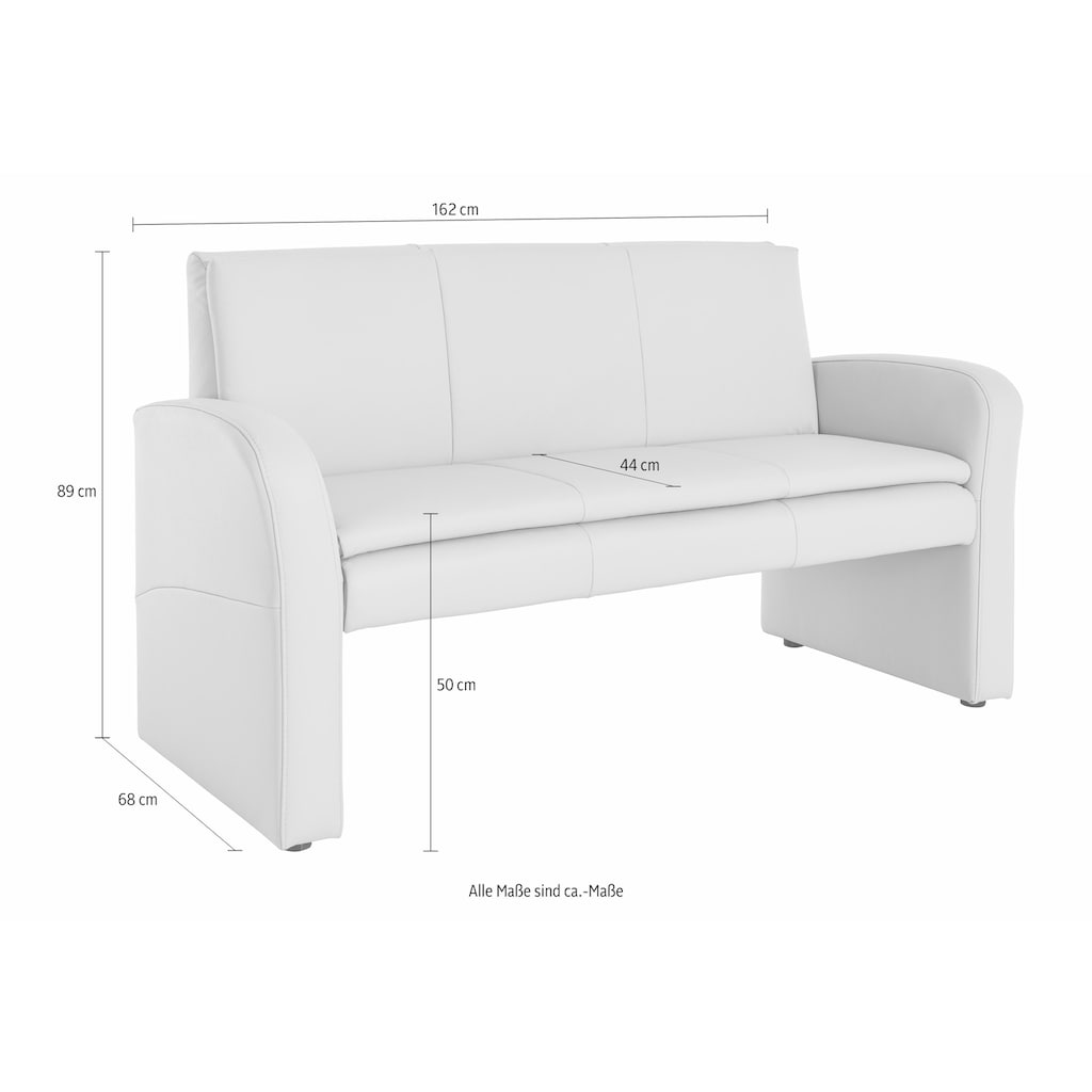 exxpo - sofa fashion Polsterbank »Cortado«, Frei im Raum stellbar