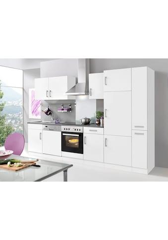 HELD MÖBEL Küchenzeile »Toronto«, mit E - Geräten, Breite 310 cm kaufen