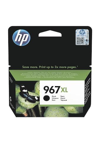 HP Tintenpatrone HP 967XL schwarz »3JA31AE« kaufen