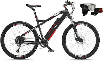Telefunken E - Bike »Aufsteiger M920«, 9 Gang Shimano Acera Schaltwerk, Kettenschaltung, Heckmotor 250 W (mit Beleuchtungsset) kaufen
