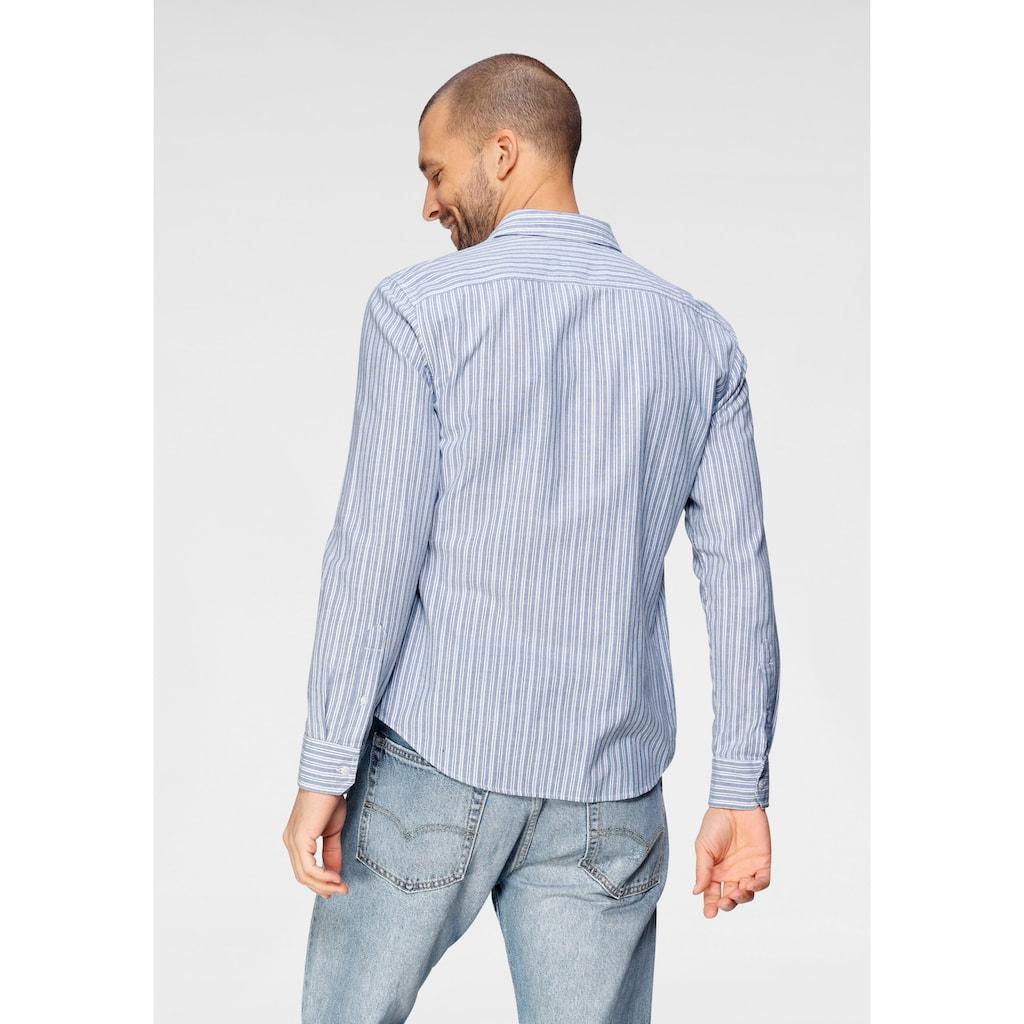 Levi's® Langarmhemd, mit Brusttasche