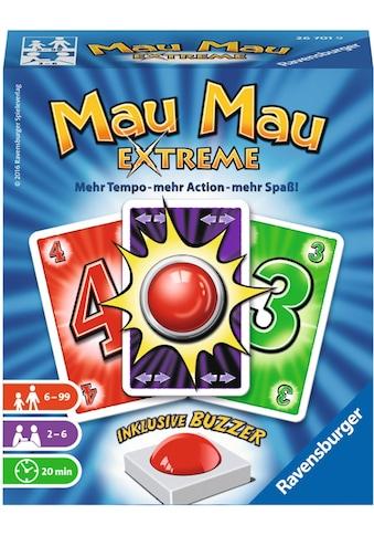 Ravensburger Spiel »Mau Mau Extreme«, Made in Europe, FSC® - schützt Wald - weltweit kaufen