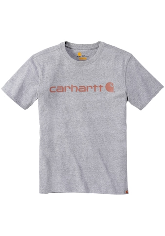 CARHARTT T - Shirt »LOGO GRAPHIC S/S«, HEATHER GREY, Damen kaufen