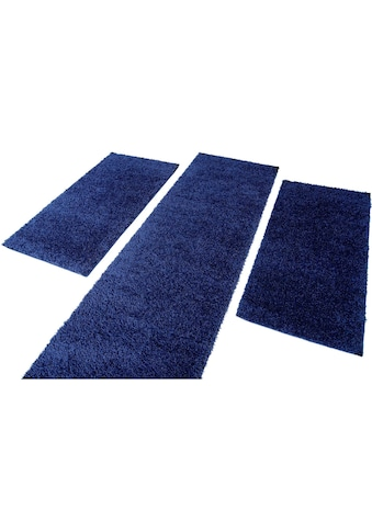 Bettumrandung »Shaggi uni 500« Carpet City, Höhe 30 mm (3 - tlg.) kaufen