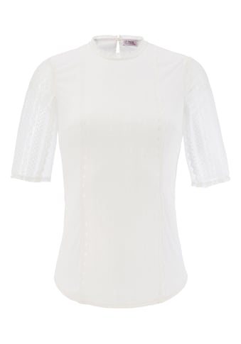 Marjo Trachtenshirt Damen mit Spitzenärmel kaufen