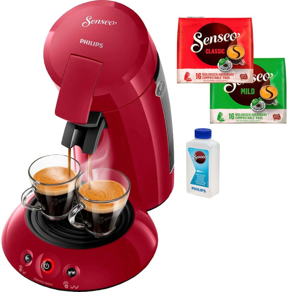 Senseo Kaffeepadmaschine »HD6554/90 New Original«, inkl. Gratis-Zugaben im Wert von 14,- UVP