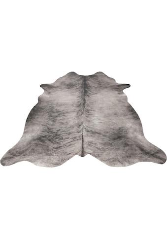 Andiamo Fellteppich »Amarillo«, fellförmig, 4 mm Höhe, Kunstfell, gedruckte Kuhfell-Optik, Wohnzimmer kaufen