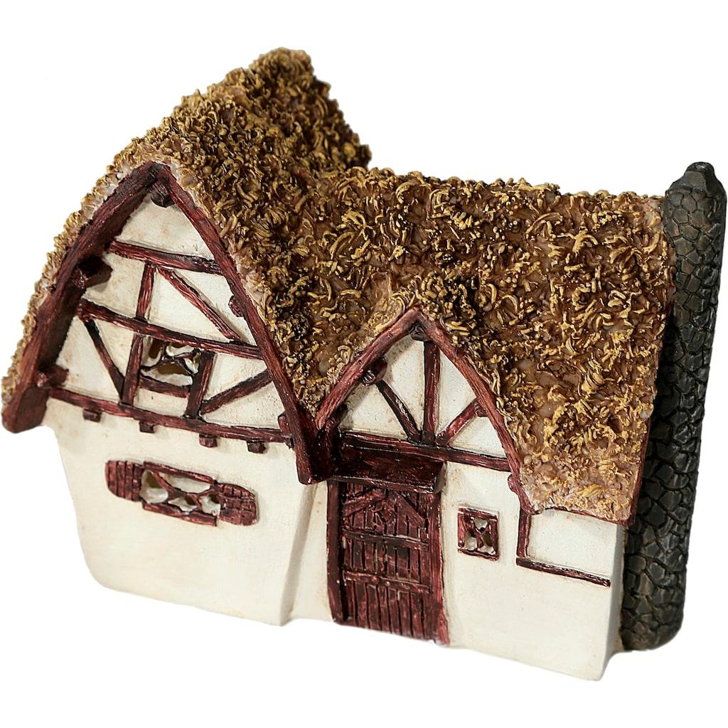 Casa Collection by Jänig Dekofigur »Cottage«, mit Solarlicht