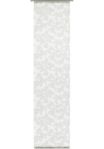 Schiebegardine, »Flächenvorhang Stoff Rispe mit weißen Paneelwagen«, GARDINIA, Paneelwagen 1 Stück kaufen