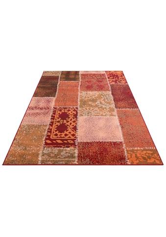 Home affaire Teppich »Garry«, rechteckig, 7 mm Höhe, Vintage Design, Wohnzimmer kaufen