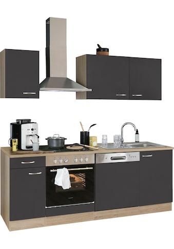OPTIFIT Küchenzeile »Parare«, 210 bzw. 270 cm mit Hanseatic E-Geräten, wahlweise mit... kaufen