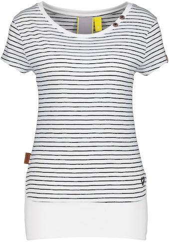 Alife & Kickin T-Shirt »CocoAK«, süßes Shirt mit Print und breitem Bündchen kaufen