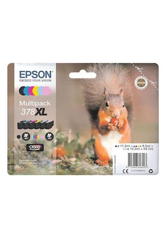 Epson Tintenpatrone Multipack 6 - farbig »378XL« kaufen