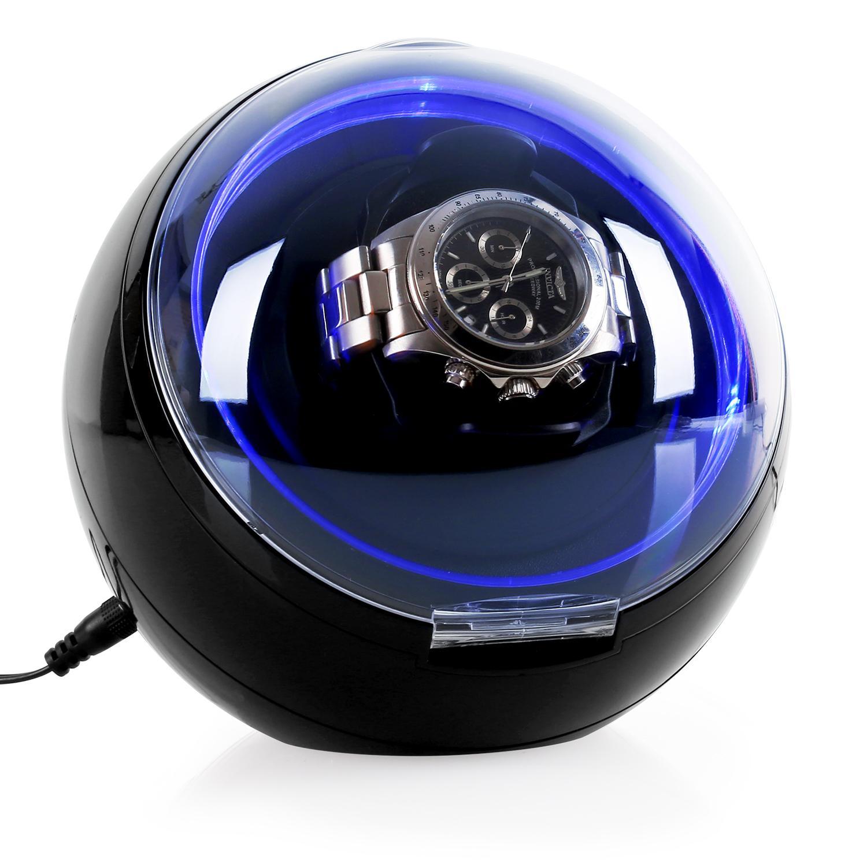Klarstein Uhrenbeweger Watchwinder Uhrendreher Uhren Display 4 Modi LED »St. Gallen Deux« | Uhren > Uhrenbeweger | Klarstein