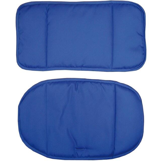 "roba® Kinder-Sitzauflage ""(1852V) Dekor Blau"", (2-tlg.)"