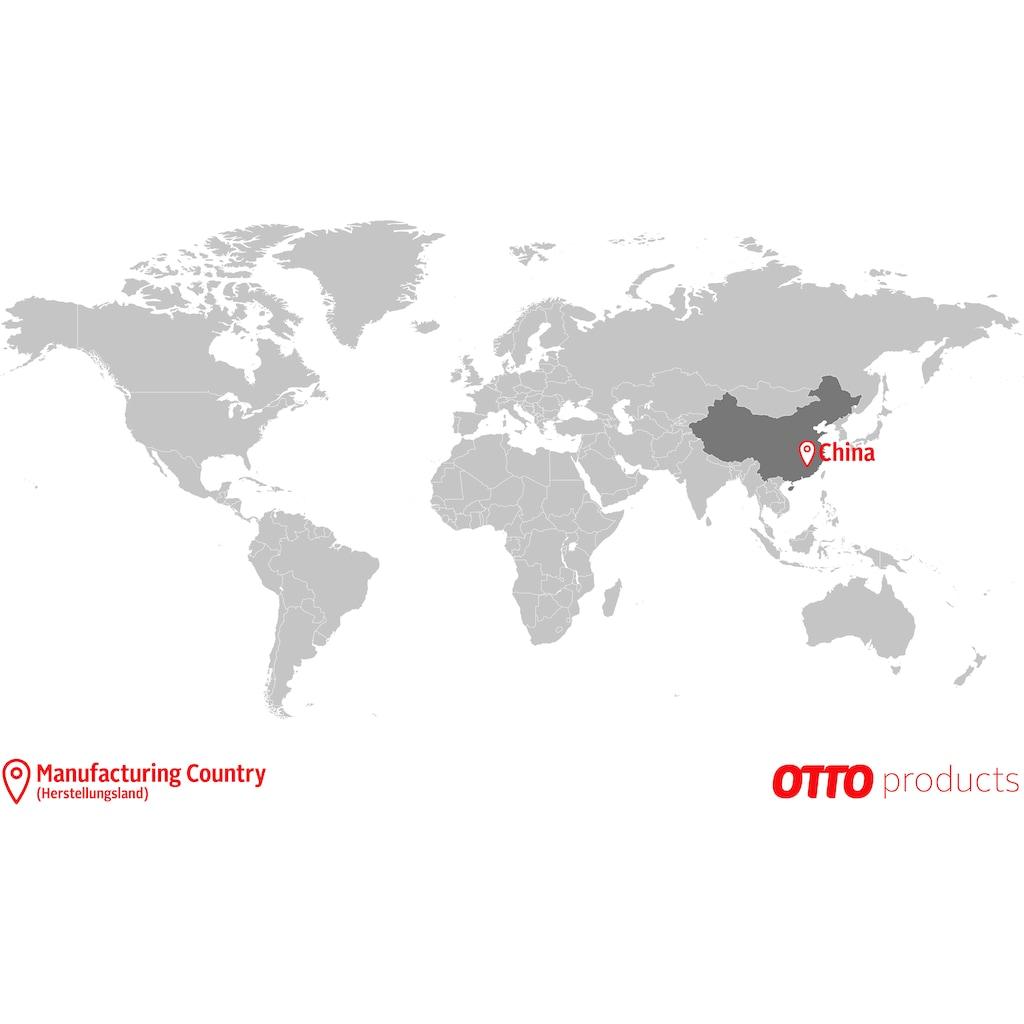 Raffrollo »Lilja«, OTTO products, mit Ösen, ohne Bohren