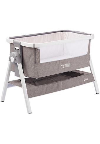Gesslein Baby-Reisebett »Babies Smiloo Snoozle, weiß/taupe« kaufen
