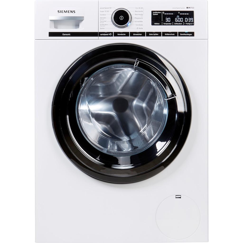 SIEMENS Waschmaschine »WM14VMA2«, iQ700, WM14VMA2