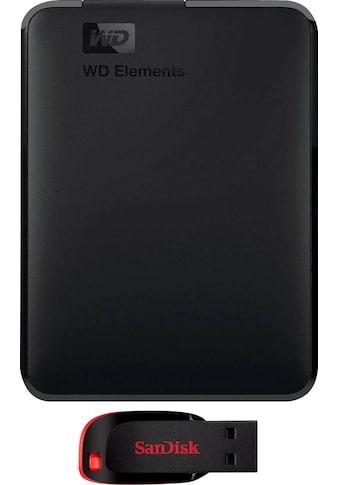 WD »Elements Portable« externe HDD - Festplatte 2,5 '' kaufen