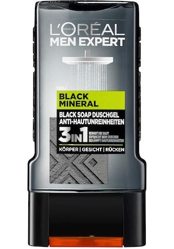 """L'ORÉAL PARIS MEN EXPERT Duschgel """"Black Mineral"""" kaufen"""