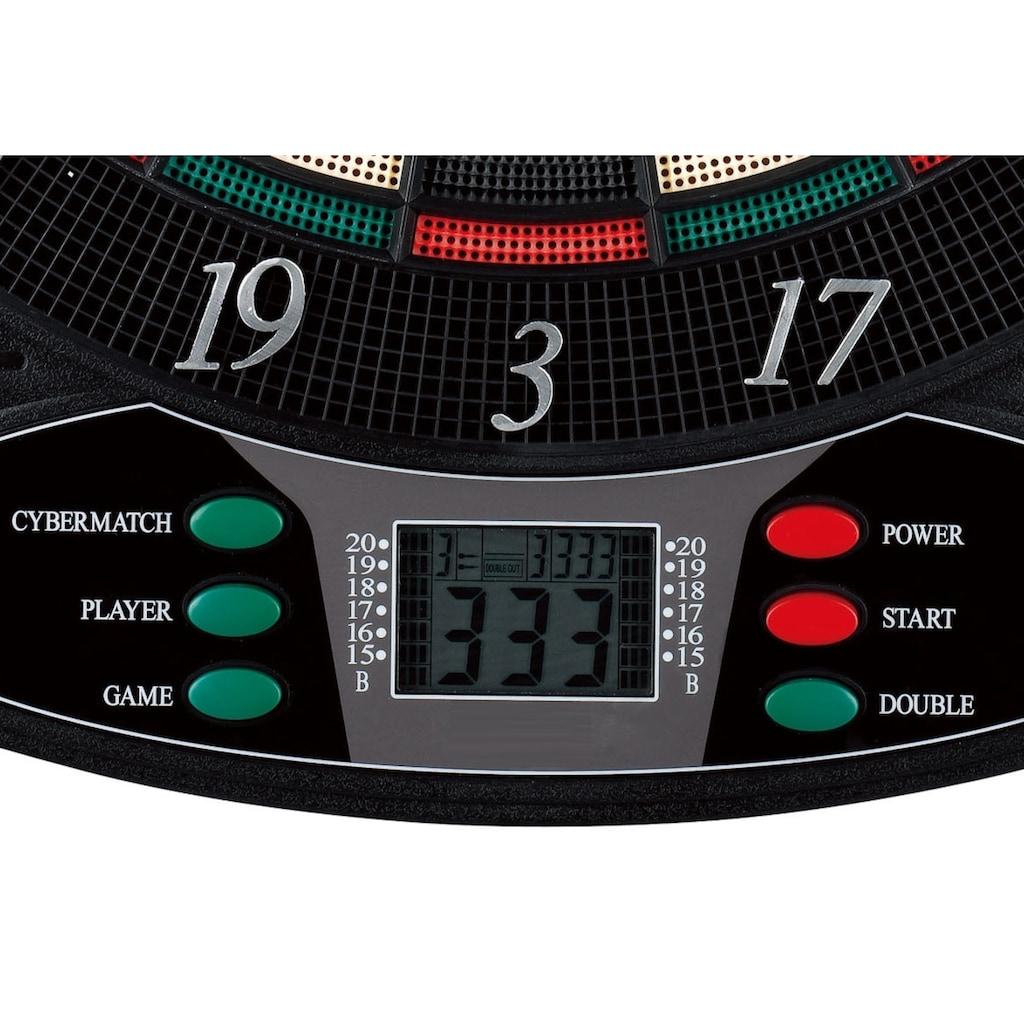 L.A. Sports Dartautomat »Elektronische Dartscheibe 1-8 Spieler«