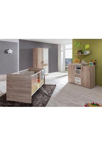 Babyzimmer - Komplettset »Bergamo« (Set, 3 - tlg) kaufen