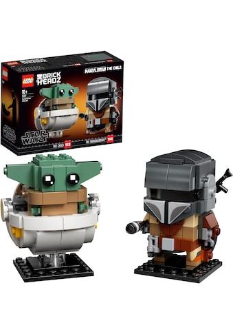 LEGO® Konstruktionsspielsteine »Der Mandalorianer™ und das Kind (75317), LEGO® Star Wars™«, (295 St.), Made in Europe kaufen