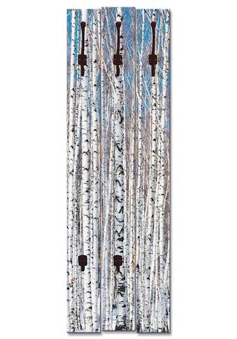 Artland Garderobenpaneel »Winterbirkenwald Wintergelassenheit« kaufen