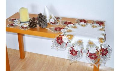Stickereien Plauen Tischdecke »Kerzenschein« kaufen