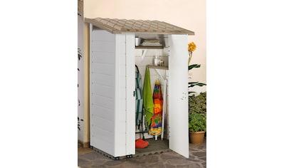 GAROFALO Kunststoffhaus »TUSCANY 100.1P«, BxTxH: 123x83x201 cm kaufen