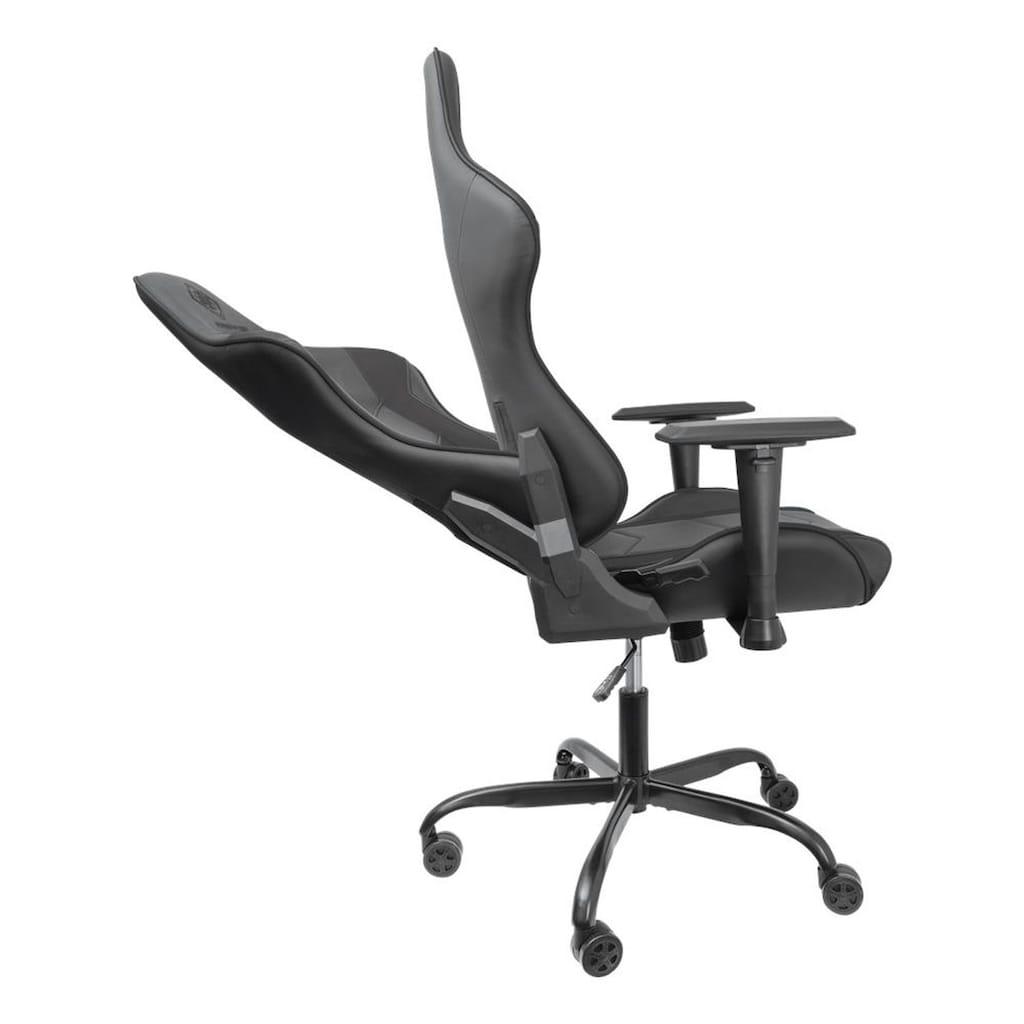 DELTACO Gaming-Stuhl »Gaming Stuhl Jumbo«, Kunstleder, für große Personen 110kg Belastung