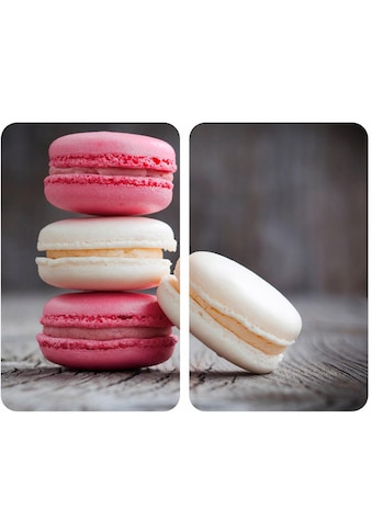 """WENKO Herd - Abdeckplatte """"Macarons"""", Glas, (Set, 2 - tlg.) kaufen"""