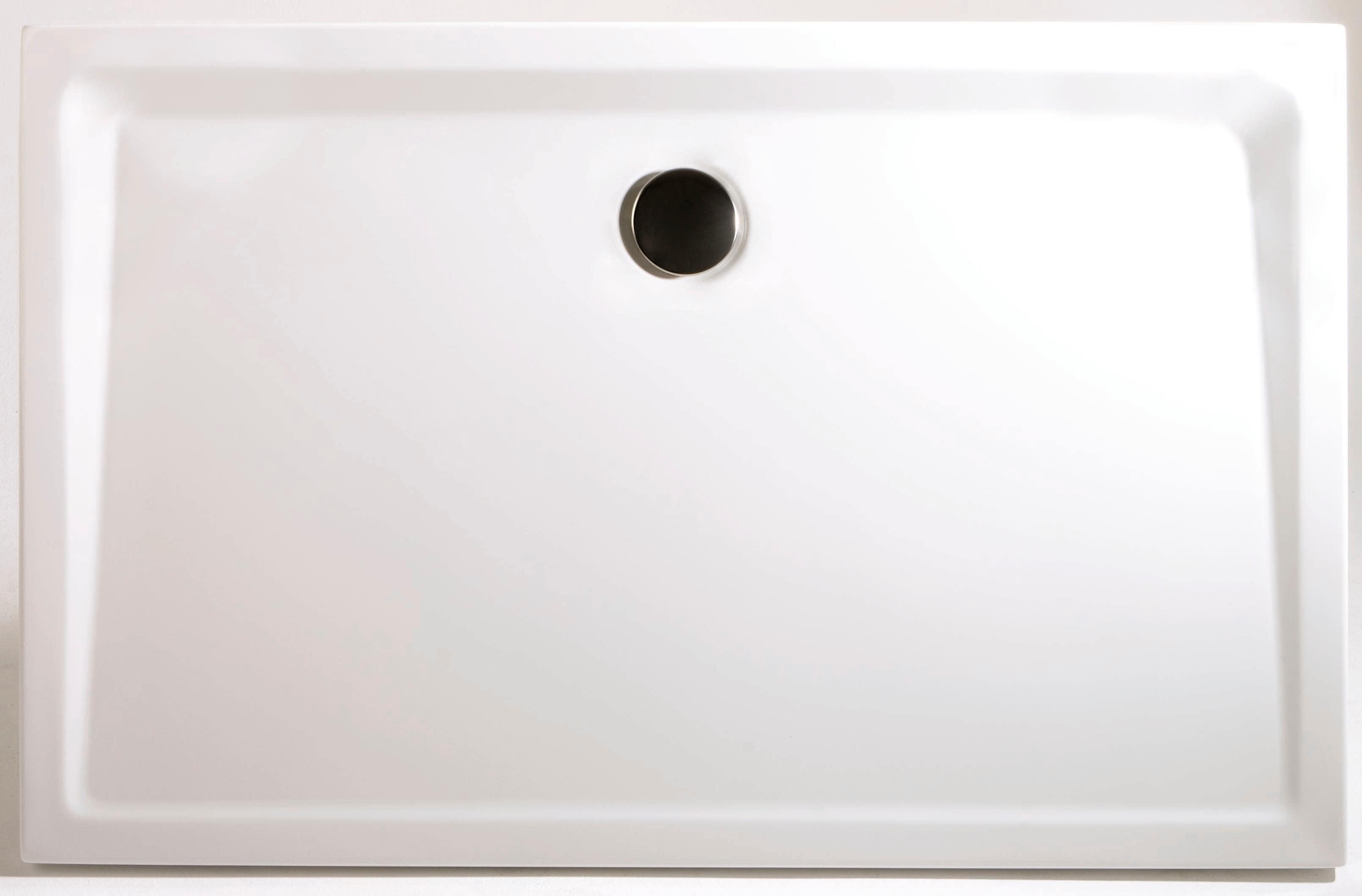 Schulte Rechteckduschwanne »Extraflach«, 80/120 cm   Bad > Duschen > Duschwannen   Weiß   SCHULTE